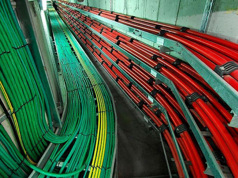 Как прокладывают кабельные трассы